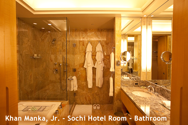 Manka Bros, Khan Manka, Sochi Olympics, Sochi, Russia, 22nd Olympics, horrible hotel room