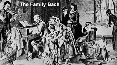 Johann Sebastian Bach     The Man and His Music   Emily s Music DumpJohann Sebastian Bach Family