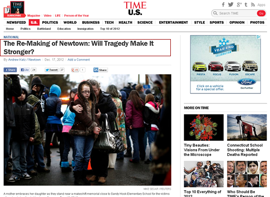 Manka Bros., Khan Manka, Andrew Katz, Time.com, Newtown Massacre