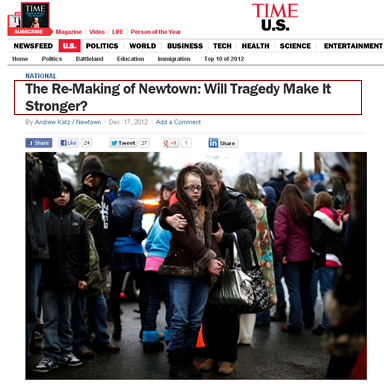 Manka Bros., Khan Manka, Jill Kennedy, OnMedea, Andrew Katz, time.com, newtown massacre