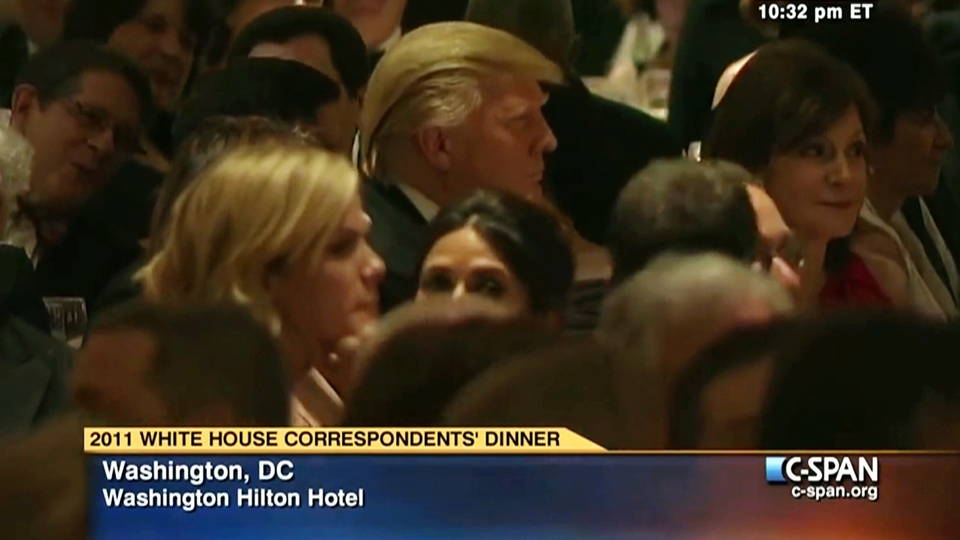 Manka Bros., Khan Manka, Donald Trump, Barack Obama, 2011 White House Correspondents Dinner, Russia Collusion, Russia Conspiracy, 2016 Presidential Election