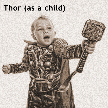 Manka Bros., Khan Manka, Vidar, Norse God of Silence, Thor, Thor as Woman, Marvel, Heimdall, Arrow, Valhalla, Asgard, The Flash
